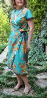 Serendipity Studio The Ramona Wrap Dress sewing pattern